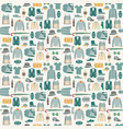 fashion man cloth and accessories vector image vector image