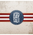 Independence Day Sale modern graphic Tag vector image vector image
