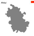 map province of china vector image vector image