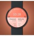 Smartwatch mockup vector image vector image