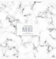 white marble texture background design vector image vector image