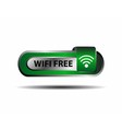 Wifi free button green sign