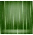 Binary Code Green Background vector image vector image