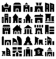 Building and Furniture Icons 2 vector image vector image