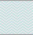 chevron knit vector image vector image