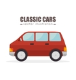 classic cars design vector image vector image