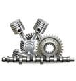 motor parts concept vector image