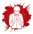praise god prayer christian praying vector image