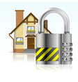 Safe House Concept vector image vector image