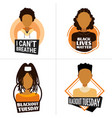 set african american people against racial