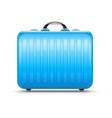 suitcase for travel vector image