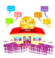 Top Rated Restaurant Got Full vector image vector image