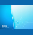 abstract medical pharmacy background template vector image vector image