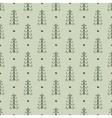 Christmas trees vintage seamless pattern vector image