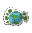 ecology earth icon stock vector image vector image