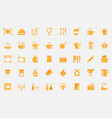 fill-lineicon-restaurant-and-cooking vector image