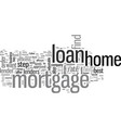 how to find the best home mortgage loan vector image vector image