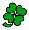 Lucky irish clover for st patricks day