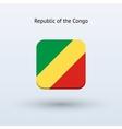Republic of the Congo flag icon vector image vector image
