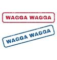 Wagga Wagga Rubber Stamps vector image vector image