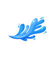 blue wave marine oceanic and nautical theme vector image