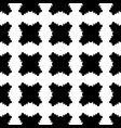 black white checked seamless pattern vector image