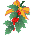 Decoration of Christmas vector image vector image