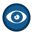 eye sign isolated icon vector image vector image