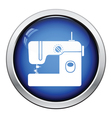 Modern sewing machine icon vector image vector image
