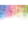 Modernistic square abstraction template vector image vector image