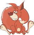 A squirrel cartoon vector image vector image