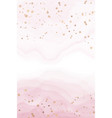 abstract pink liquid watercolor background vector image vector image