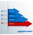arrows business concept vector image