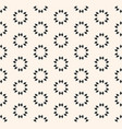 geometric seamless texture floral tile pattern vector image vector image