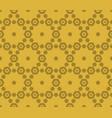 golden hexagon seamless pattern elegant luxury vector image vector image