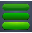 Green high-detailed modern web buttons vector | Price: 1 Credit (USD $1)