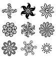 Set Deco Small Circles vector image
