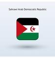 Sahrawi Arab Democratic Republic flag icon vector image vector image