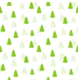 seamless pattern with New Year Christmas vector image vector image