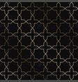art deco geometric pattern - seamless vector image vector image