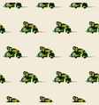 cute camo mice design seamless pattern vector image