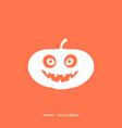 digital orange happy vector image vector image