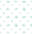 loader icons pattern seamless white background vector image vector image