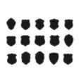 set black badges in shape shields