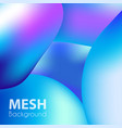 trendy liquid backgrounds purple gradient mesh vector image vector image