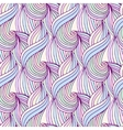 Waves repeating background in pastel colors vector image vector image