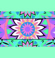 abstract background of stained glass mandalas vector image vector image