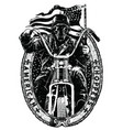 american choppers vector image vector image
