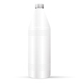Bottle with cleaner vector image