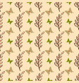 cute butterfly seamless pattern background vector image